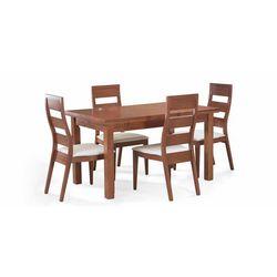 Conjunto de mesa extensible y 4 sillas.