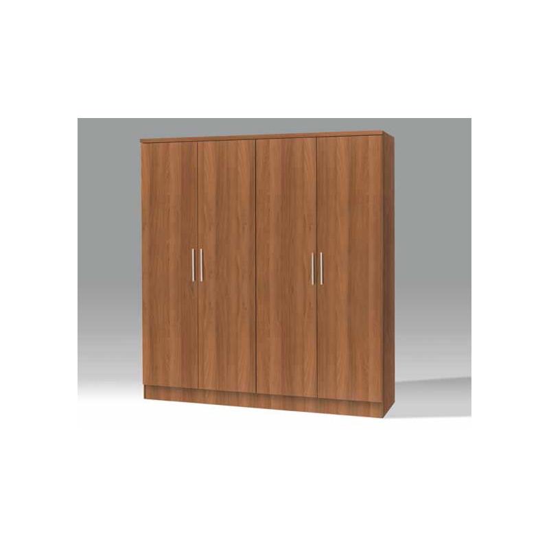 Armario 4 puertas c cajonera interior 200 x 50 x 210 cm muebles tresilar - Cajonera interior armario ...