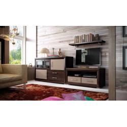 Mueble Salón modular 02 de 316 cm