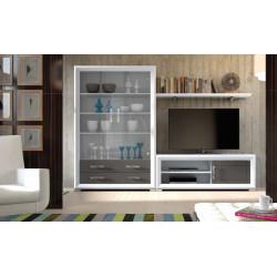 Mueble de Salón modular 05 de 264 cm